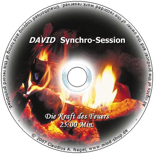 """DAVID Session-CD """"Die Kraft des Feuers"""