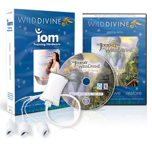 iom-Sensor mit Journey to Wild Divine 1 - The Passage