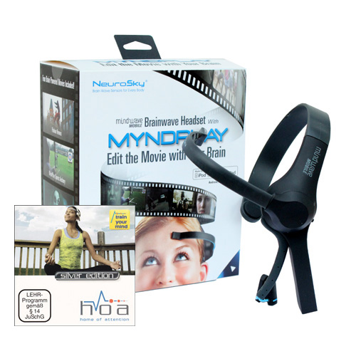 NeuroSky MindWave Mobile MyndPlay mit Home of Attention