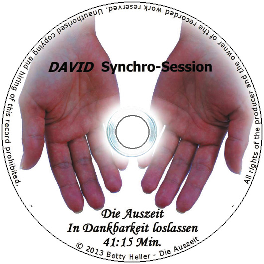"DAVID Synchro-Session ""In Dankbarkeit loslassen"""