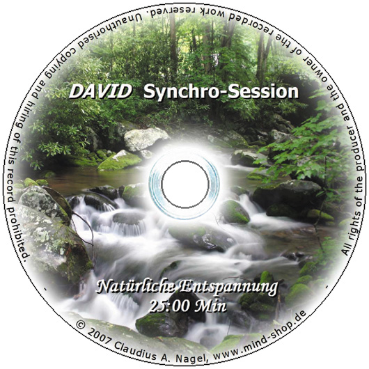 "DAVID Synchro-Session ""Nat�rliche Entspannung"""