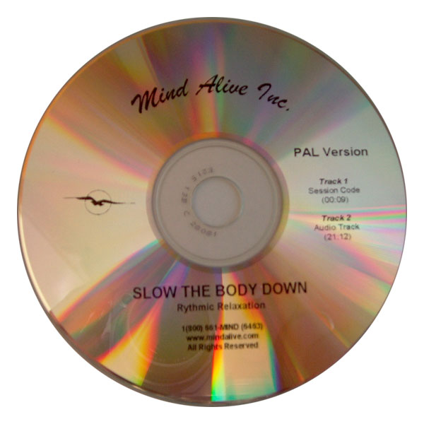"DAVID Session-CD ""Slow the Body Down"""